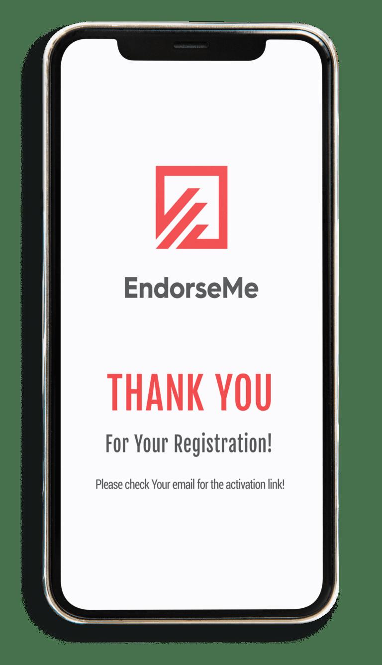 EndorseMe video endorsement